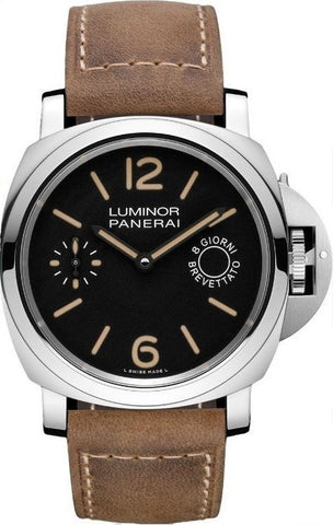 Panerai Luminor Marina 8 Days Acciaio PAM00590 Men's Watch