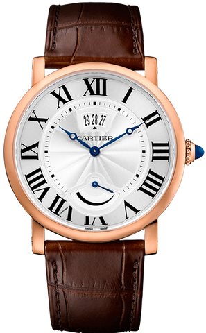 Cartier Rotonde de Cartier Calendar Power Reserve Mens Watch w1556252