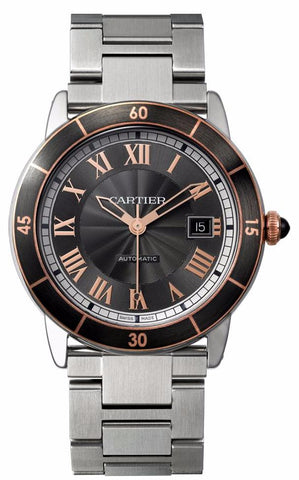 Cartier Ronde Croisiere De Cartier Mens Watch w2rn0007