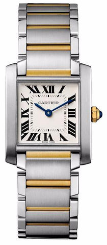 Cartier Tank Francaise Medium Midsize Watch w2ta0003