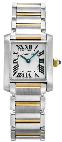 Cartier Tank Francaise Small Ladies Watch w51007q4