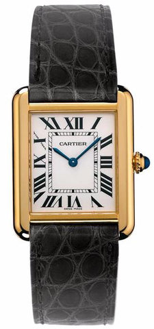 Cartier Tank Solo Quartz Ladies Watch w5200002