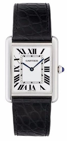 Cartier Tank Solo Quartz Midsize Watch w5200003