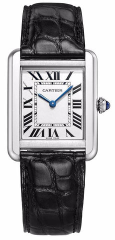 Cartier Tank Solo Quartz Ladies Watch w5200005