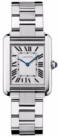 Cartier Tank Solo Quartz Ladies Watch w5200013