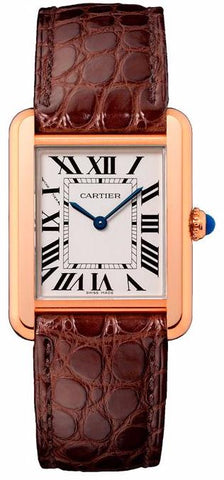 Cartier Tank Solo Quartz Ladies Watch w5200024