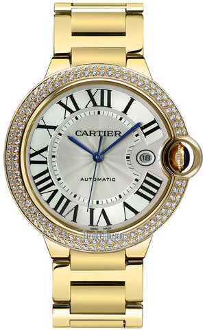 Cartier Ballon Bleu 42mm Mens Watch we9007z3