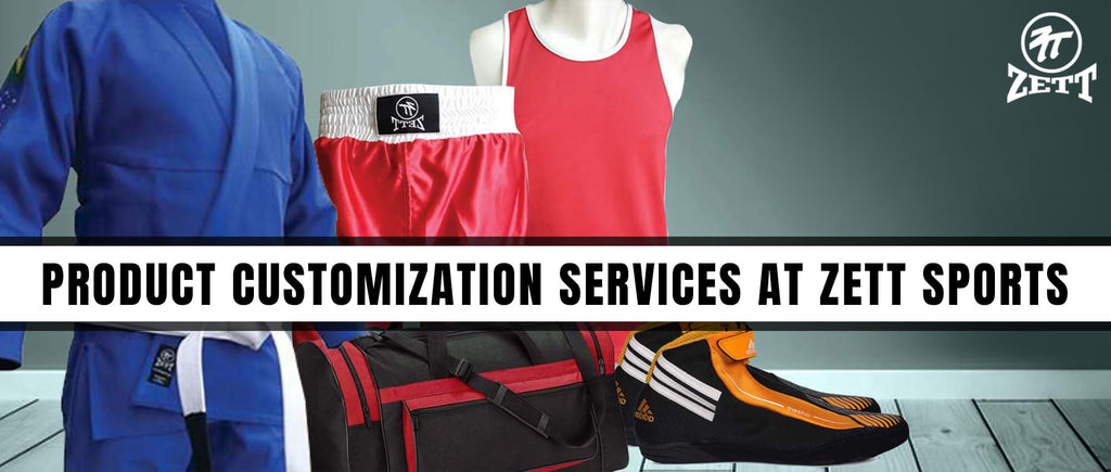 Product Customization Services at Zett Sports