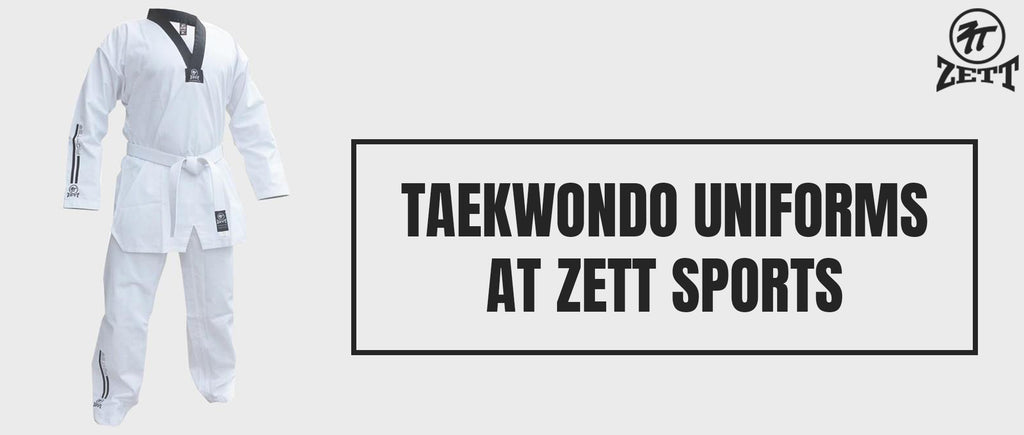 Taekwondo Uniforms at Zett Sports
