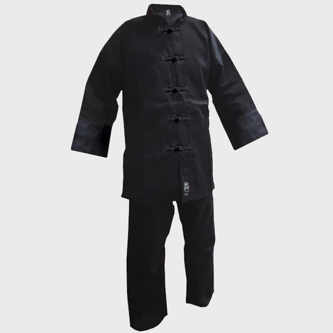 Kung Fu Uniform - Black