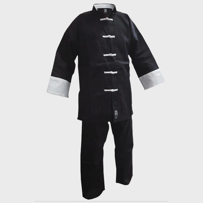 Kung Fu - Black & White Uniform