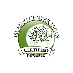 Logo seal of the halal certification