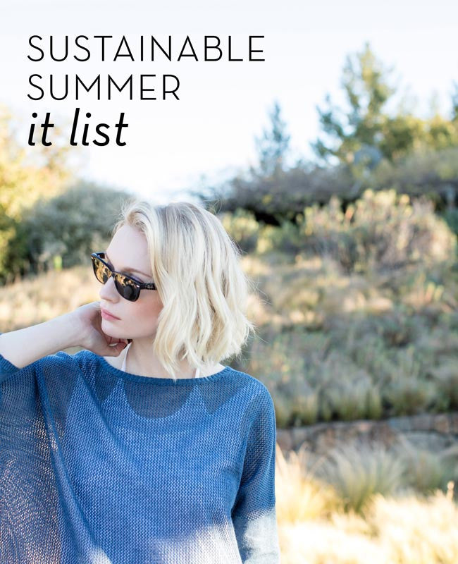 Sustainable Summer It List from Indigenous organic and fair trade fashion