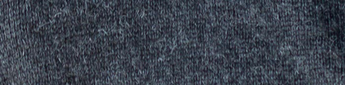 Swatch: charcoal gray baby alpaca knit