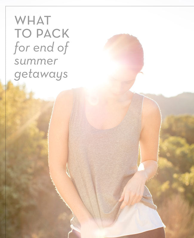 Sustainable Fashion Tips: What to Pack for Last Minute Summer Getaways