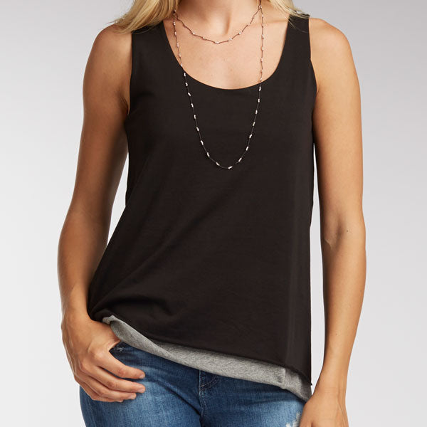 What to Pack: Double Layer Tank in organic Pima cotton from Indigenous