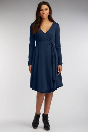 Luxe Wrap Dress