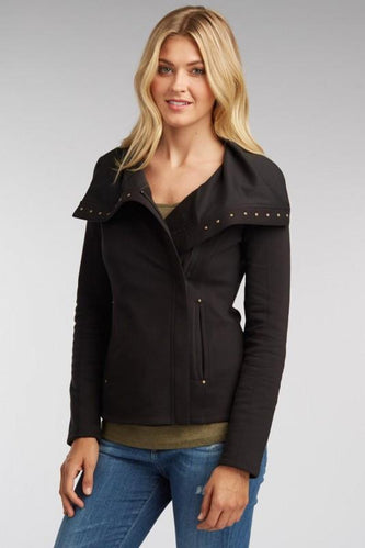 Studded Fleece Jacket