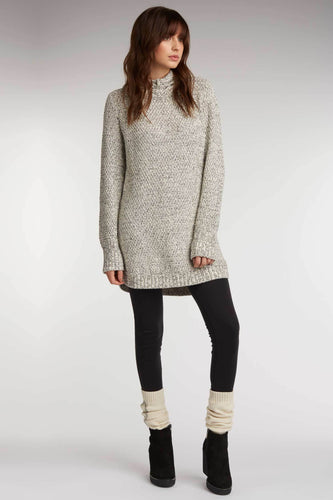 Textured Hooded Tunic