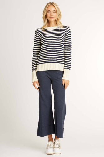 Striped Bouclé Sweater