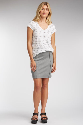 Zip Pocket Skirt