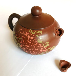 Wild Tea Qi Artisan Jian Shui Purple Pottery Teapots Heavy Metal Test