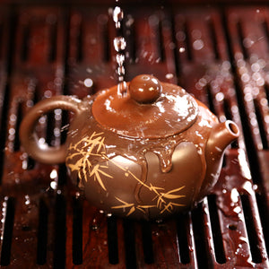 Crystal Music - Jian Shui Pottery Teapot - Wild Tea Qi Official Website