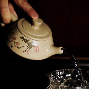 Clear Wind Bright Moon - Jian Shui Pottery Teapot - Wild Tea Qi Official Website