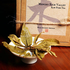 Mengku Rich Valley Raw Puer Tea - Wild Tea Qi Official Website