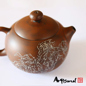 Xishuangbanna Forest Series 1 - Jian Shui Pottery Teapot - Wild Tea Qi Official Website