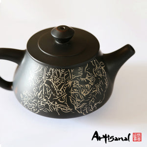 Xishuangbanna Forest Series 6 - Jian Shui Pottery Teapot - Wild Tea Qi Official Website