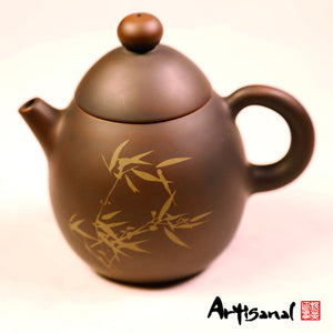 The Sound of Bamboo - Jian Shui Pottery Teapot