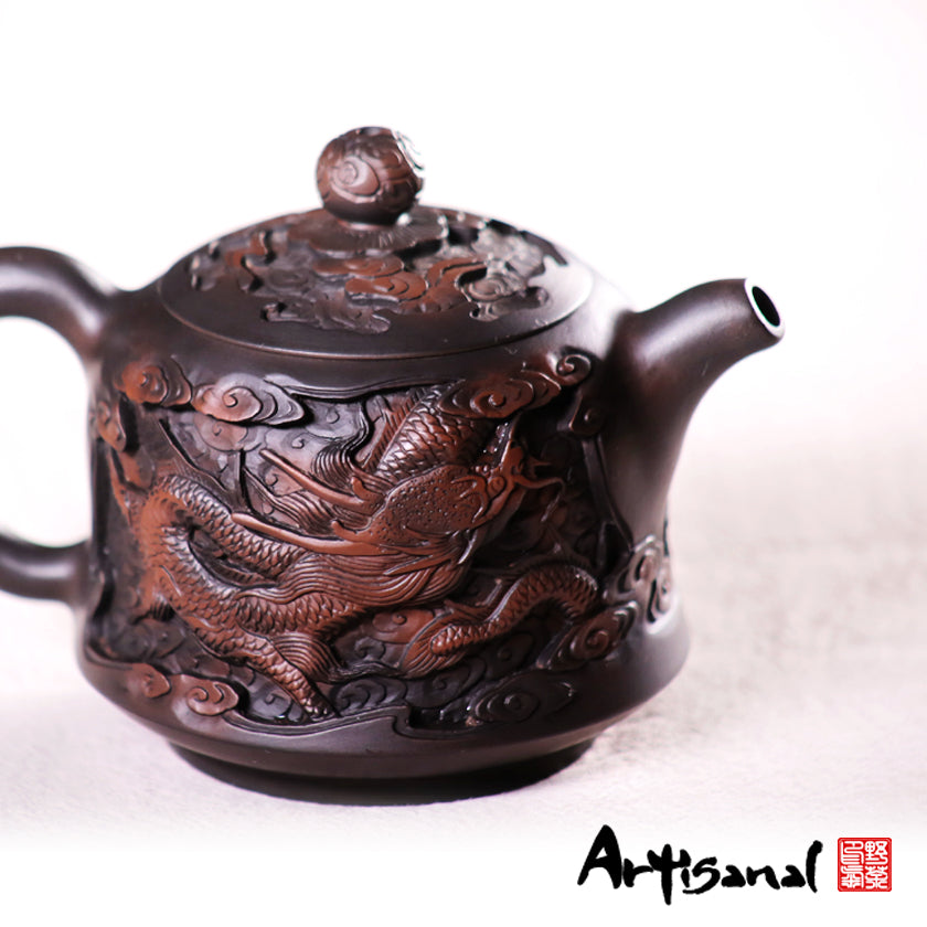 Tao Gave Them Birth - Jiang Shui Pottery Teapot - Wild Tea Qi Official Website