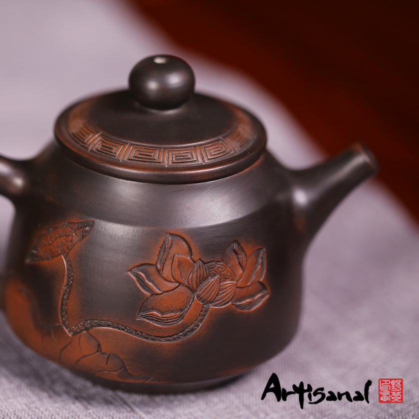 Tao Gave Birth to the One - Jian Shui Pottery Teapot - Wild Tea Qi Official Website