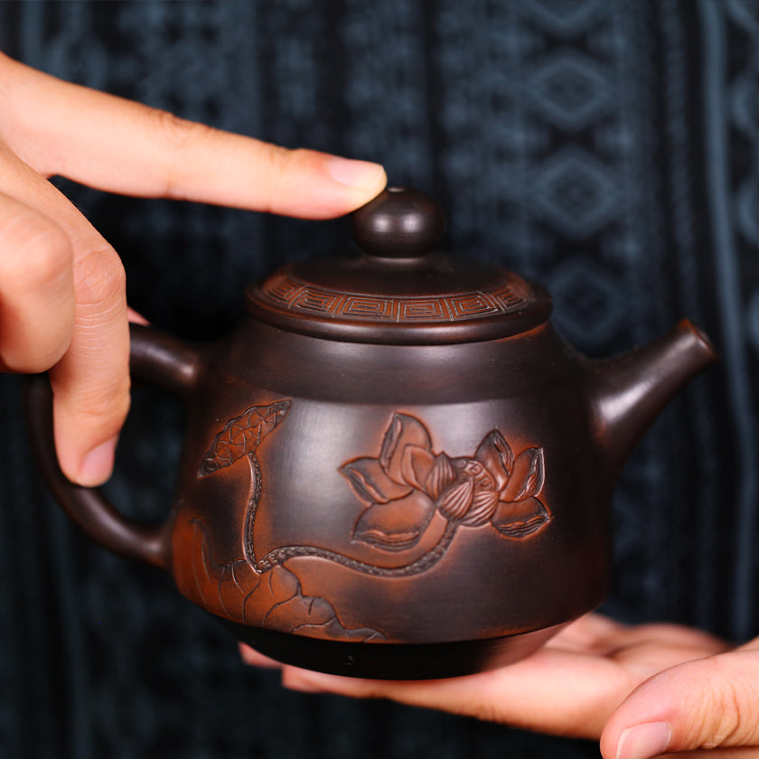 Tao gave birth to the One - Jian Shui Pottery Teapot