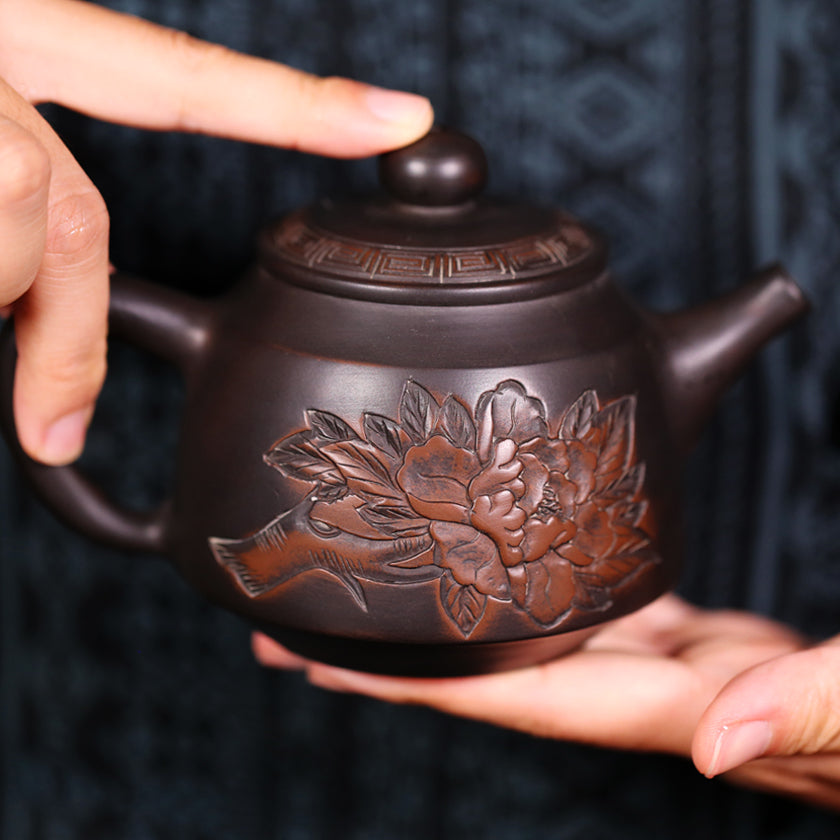 Secret Essences - Jian Shui Pottery Teapot - Wild Tea Qi Official Website