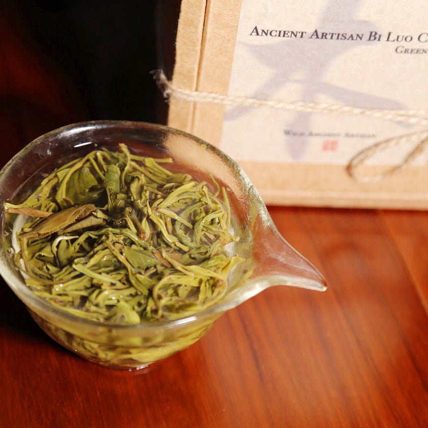 Ancient Artisan Bi Luo Chun Green Tea - Wild Tea Qi Official Website