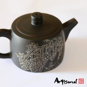 Xishuangbanna Forest Series 3 - Jian Shui Pottery Teapot - Wild Tea Qi Official Website