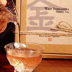 Wild Schizandra Herbal Tea