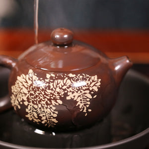 Taoist Teapot Support - Jian Shui Pottery - Wild Tea Qi Official Website