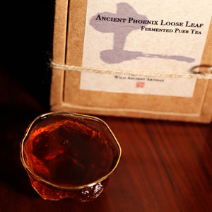 Ancient Artisan Phoenix Fermented Looseleaf Puer Tea - Wild Tea Qi Official Website