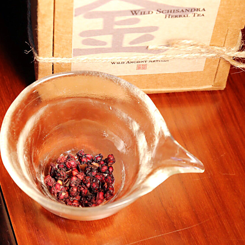 Wild Schizandra Herbal Tea (Wild Omija Berry) - Wild Tea Qi Official Website