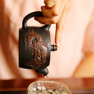 Signs of Complete Integrity- Jian Shui Pottery Teapot - Wild Tea Qi Official Website