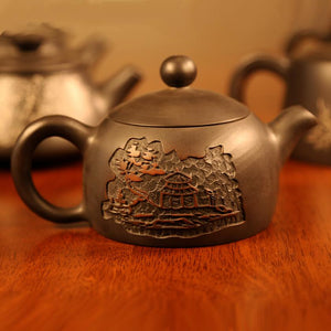 Let Be and Let Alone - Jian Shui Pottery Teapot - Wild Tea Qi Official Website