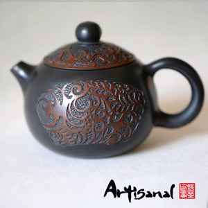 Spring Flowers Autumn Moon - Jian Shui Pottery Teapot