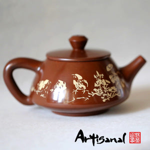 Tao of Living - Jiang Shui Pottery Teapot - Wild Tea Qi Official Website