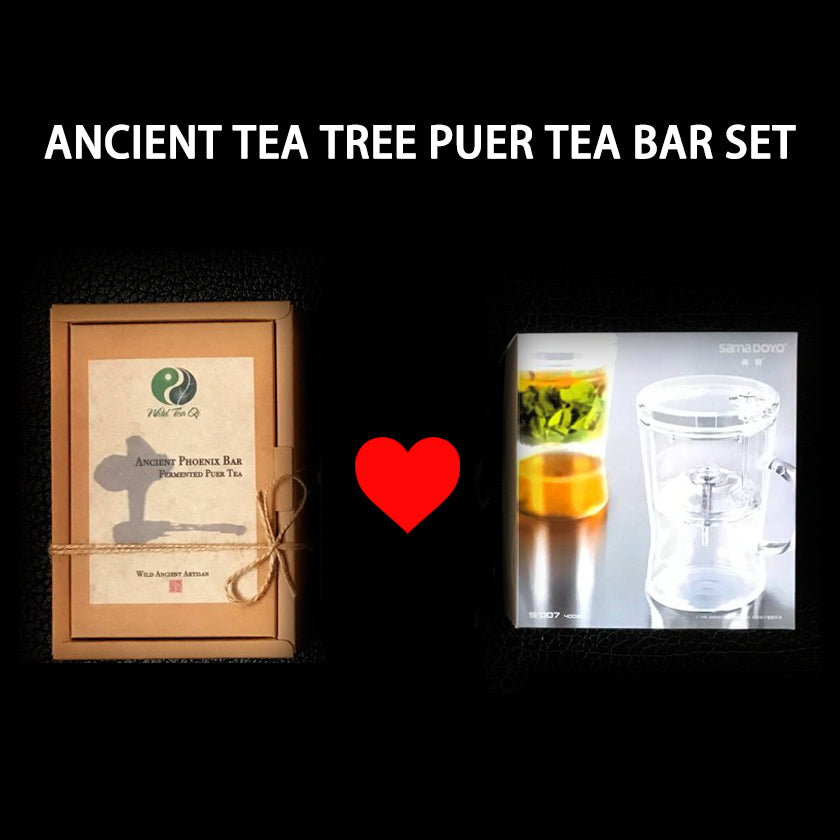 Ancient Tea Tree Puer Tea Bar Gift Set