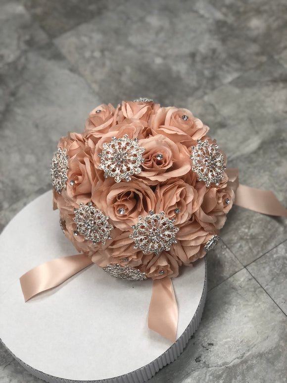 Blush with Silver