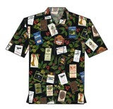 Hawaiin Coffee Label Shirt