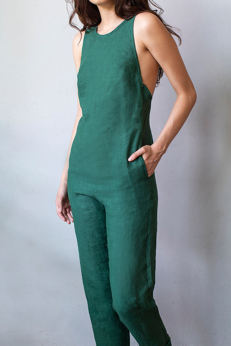 ADELITA JUMPSUIT  |  JUNGLE
